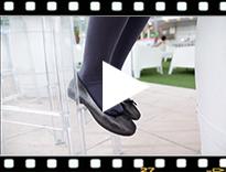 Video from Ballerines Fille et Femme effet brillant