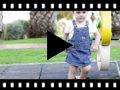 Video from Espadrilles fille en toile et lin