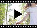 Video from Ballerines en toile avec ruban en tulle