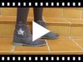 Video from Bottes Glitter à fermeture éclair
