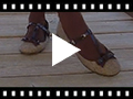 Video from Chaussures Babies à bracelet