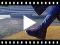 Video from Bottines plates avec Ornements brillants