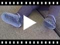 Video from Babies pour bébé en velours avec strass