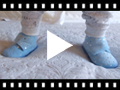 Video from Pantoufles confortables pour enfant avec étoiles brillantes