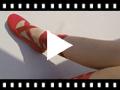 Video from Ballerines à Ruban pour Fille et Femme