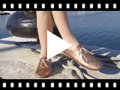 Video from Blucher Fille Cuir Métallisé