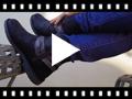 Video from Bottes basses avec Bandelettes Effet Serpent