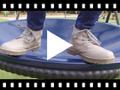 Video from Bottines en cuir pour garçon avec fermeture éclair latérale
