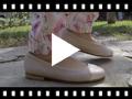 Video from Ballerines Fille & Femme en Cuir Verni et Cuir Nappa
