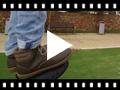 Video from Bottes en cuir pour enfant avec lacets