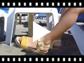 Video from Sandales Bio en Cuir avec Lanière en Tissu