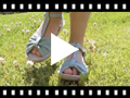 Video from Sandales Plates pour Fille en Jute