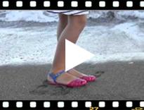 Video from Sandales Plastique pour femme modèle Mara