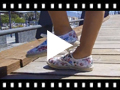 Video from Tennis Imprimé Fleuri Semelle Espadrille
