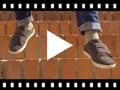 Video from Baskets de sport en daim et à scratch pour garçon