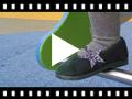 Video from Ballerines avec Etoile Glitter et Bande Elastique