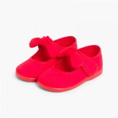 Babies en Toile Avec à scratch Type Angelito Rouge