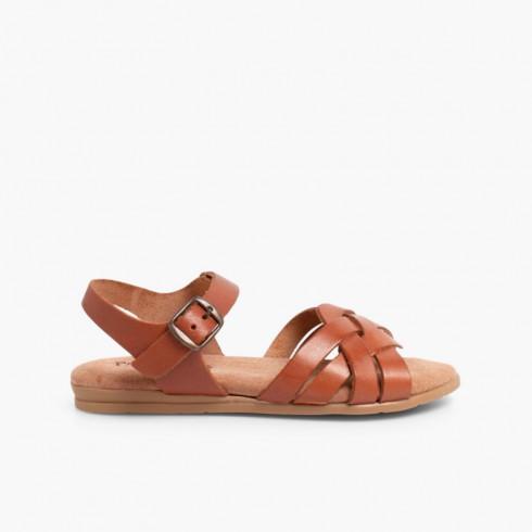 Sandales avec Semelle en Gel