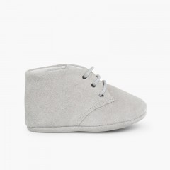 Chukka Boots à Lacets pour Bébé  Gris