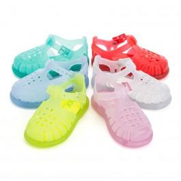 Sandales Plastique enfants de couleur unie