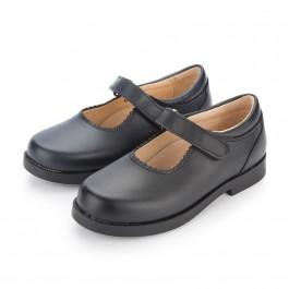 Chaussure Babies d'école Fille Velcro