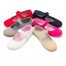 Chaussures en toile à boucle pour Fille (Grandes Tailles)