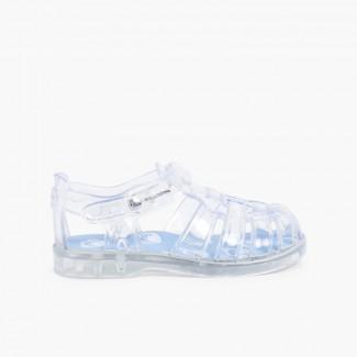 Sandales en plastique Pisamonas -Édition limitée Blanc