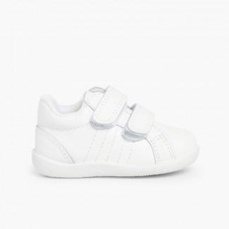 Baskets en cuir petites tailles pour Bébé et Enfant