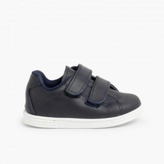 Chaussures de sport pour bébé et enfant cuir Lavable