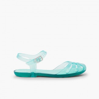Sandales Plastique pour fille Mara junior Aigue-marine
