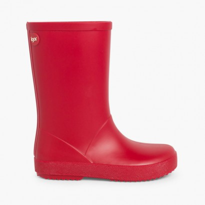 Bottes de Pluie pour enfants marque Splash de IGOR Rouge