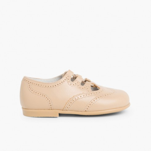 Chaussures Anglaises en Cuir