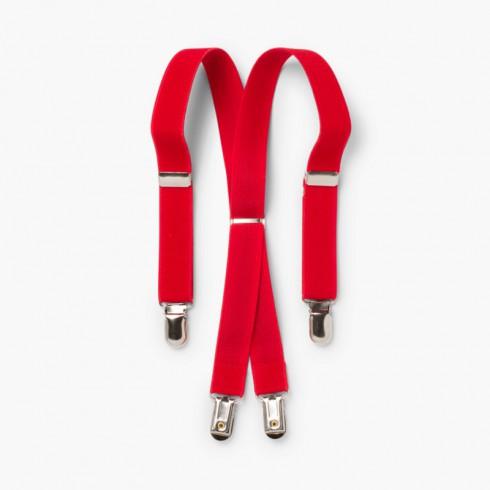 Bretelles Pour Enfant Rouge