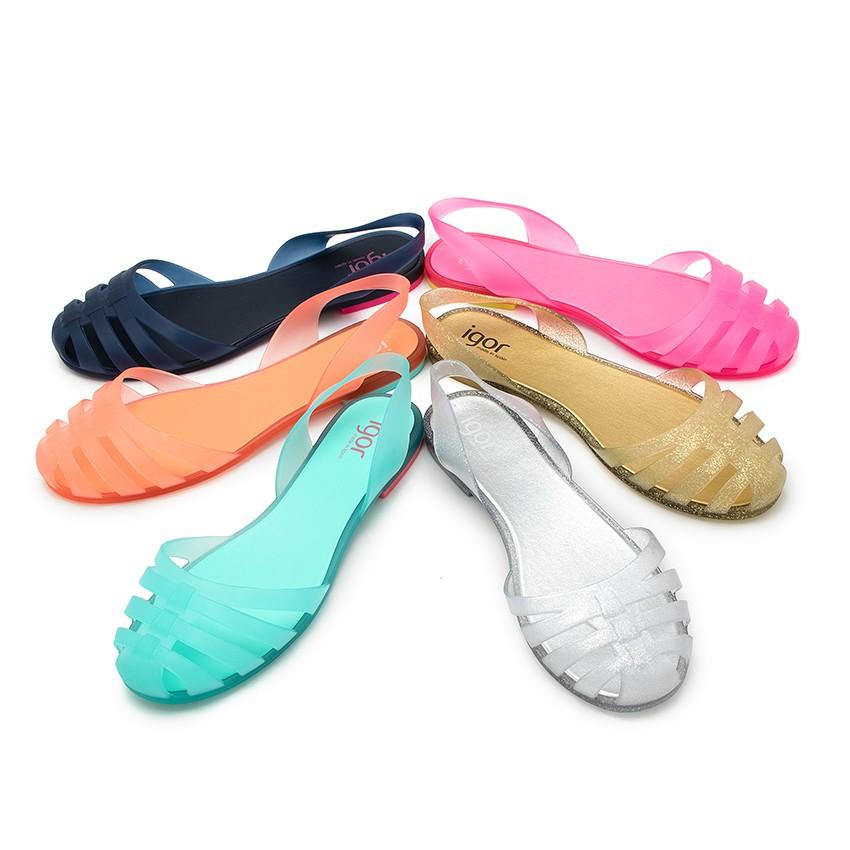 Sandales Plastique Femme Paris