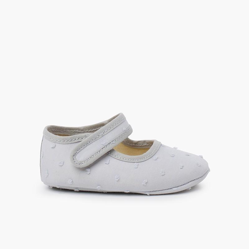 Chaussures Babies en Plumetis pour Bébés