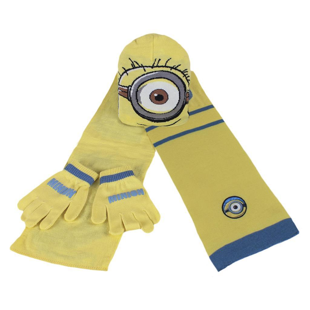 Pack: bonnet, écharpe et gants pour enfants Disney