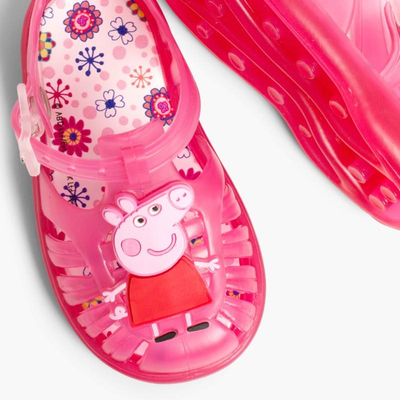 Sandales plage fille peppa pig sandales plastique fille - Peppa cochon a la plage ...