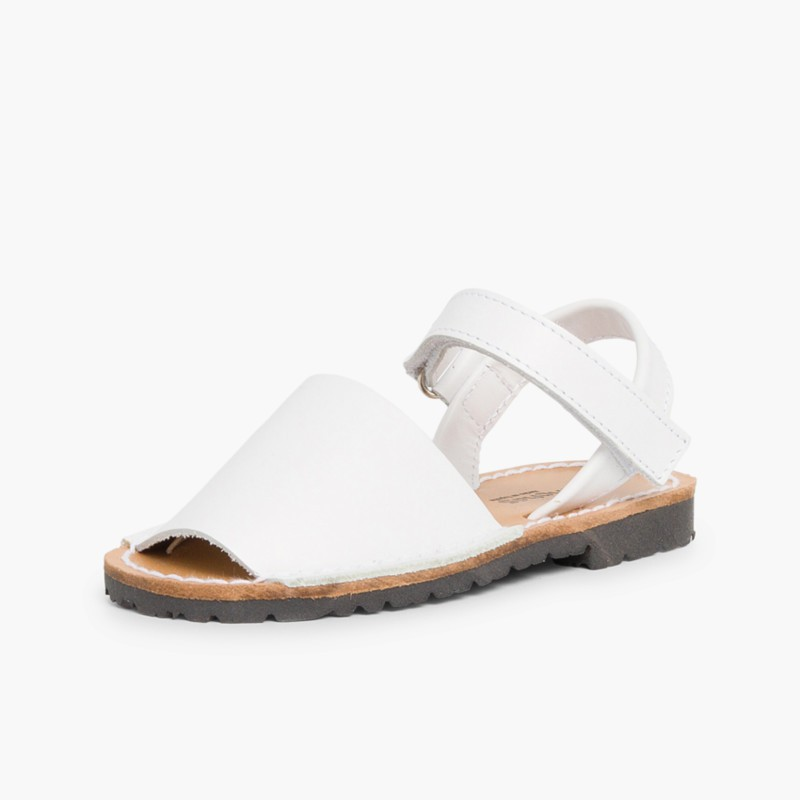 Sandale Avarca Enfants Blanche