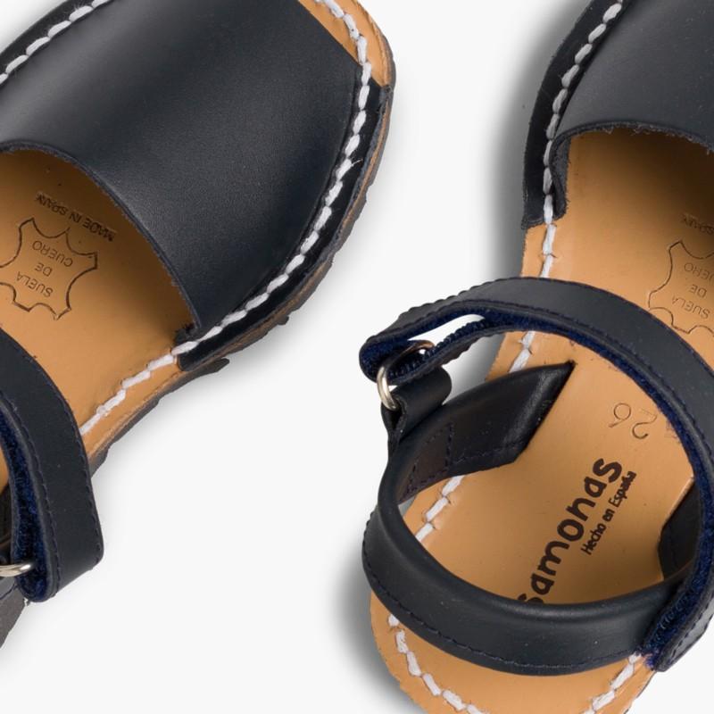 Sandale Avarca Enfants Bleu Marine