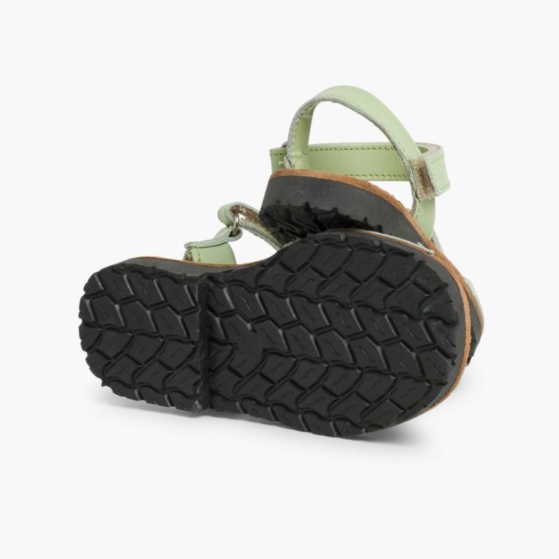 Sandale Avarca Enfants Ver Menthe