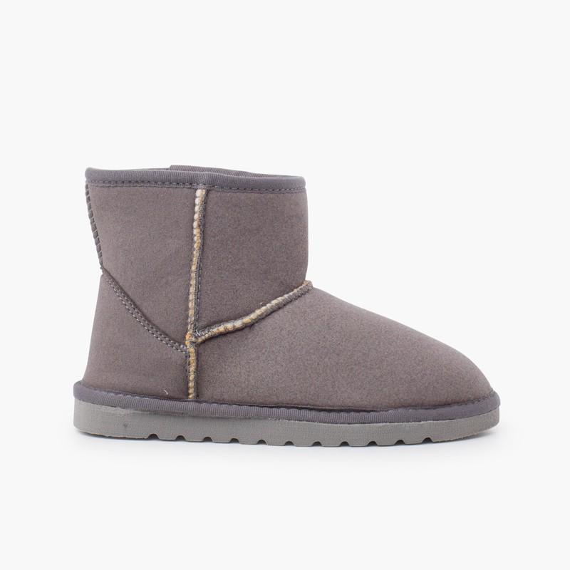 Low boots type australien femme et fille