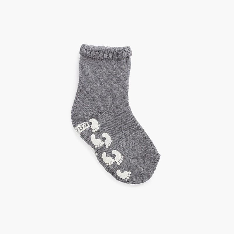 Chaussettes antidérapantes avec impression de poignets en relief