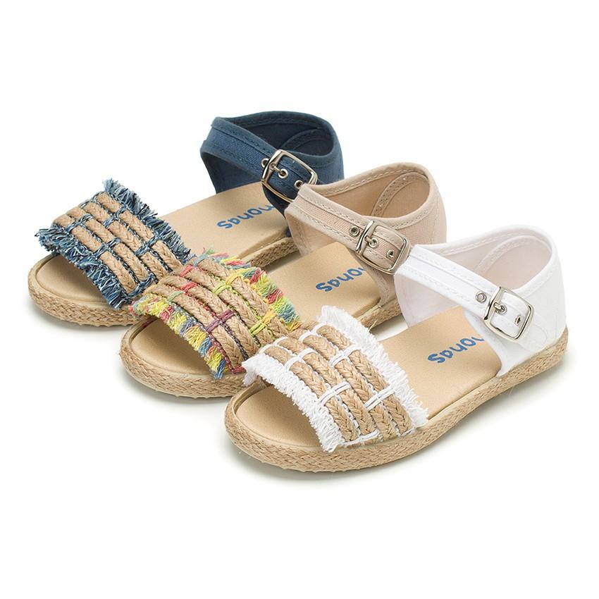 Sandales à Franges Style Espadrille