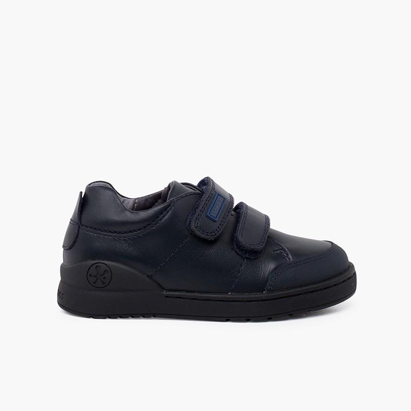 Chaussures collégiales Biomecanics avec bandes adhérentes