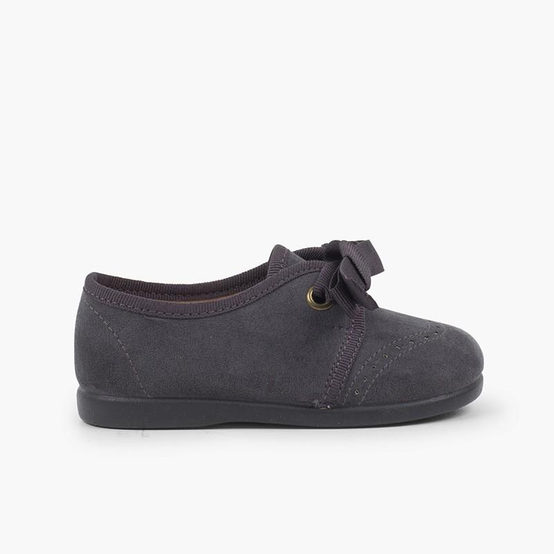 Chaussures Blucher bébé enfant serratex à scratch