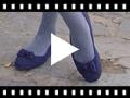 Video from Ballerines pour Fille et Femme avec Double nœud