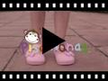 Video from Babies textile avec velcro et ruban à pois