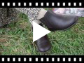 Video from Bottines pour filles en Cuir avec Élastique Latéral