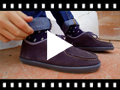 Video from Chaussures bateau en suède Garçon et Adulte