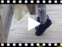 Video from Chaussures anglaises enfants en suède